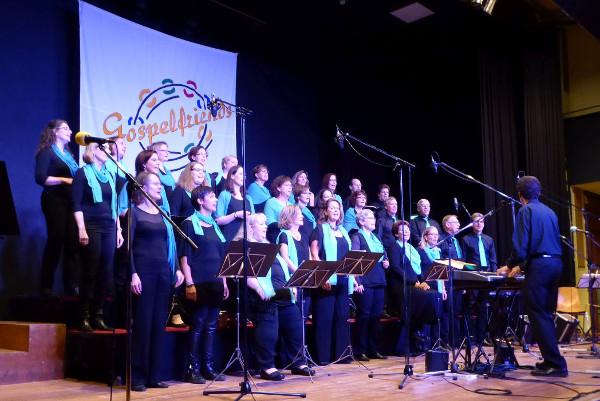 Gospelteil Chor