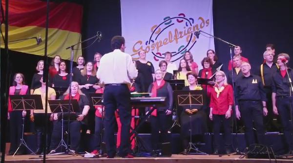 """Die Gospelfriends singen """"Auf gut Deutsch"""""""